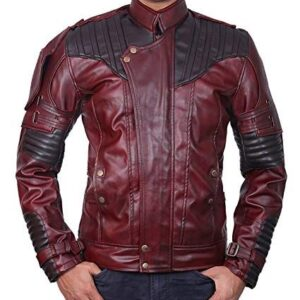 Star Lord Chris Pratt Guardians Of The Galaxy Vol 2 Leather Jacket
