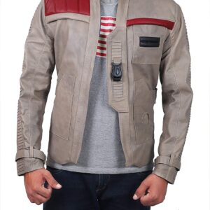 Fin Jacket Star Wars Poe Dameron Leather Jacket